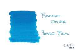 Robert Oster Signature Fountain Pen Ink Bondi Blue