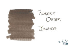 Robert Oster Signature Fountain Pen Ink Bronze