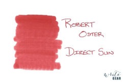 Robert Oster Signature Fountain Pen Ink Direct Sun