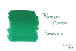 Robert Oster Signature Fountain Pen Ink Emerald