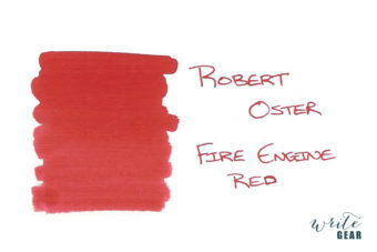 Robert Oster Signature Fountain Pen Ink Fire Engine Red