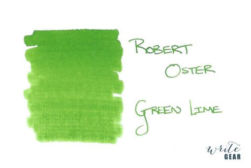 Robert Oster Signature Fountain Pen Ink Green Lime