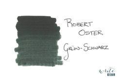 Robert Oster Signature Fountain Pen Ink Grün-Schwarz