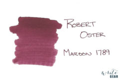 Robert Oster Signature Fountain Pen Ink Maroon 1789