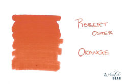 Robert Oster Signature Fountain Pen Ink Orange