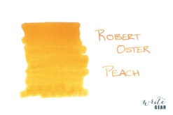 Robert Oster Signature Fountain Pen Ink Peach