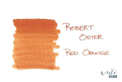 Robert Oster Signature Fountain Pen Ink Red Orange