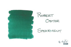 Robert Oster Signature Fountain Pen Ink Spearmint