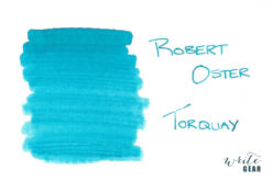 Robert Oster Signature Fountain Pen Ink Torquay