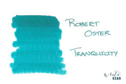 Robert Oster Signature Fountain Pen Ink Tranquility