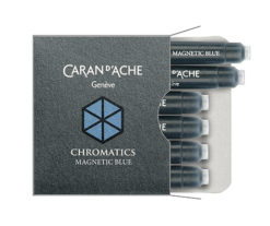 Caran d'Ach ink cartridge - Magnetic Blue
