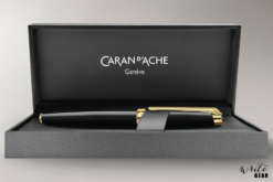 Caran d'Ache Léman Ebony Black Lacquered Fountain Pen