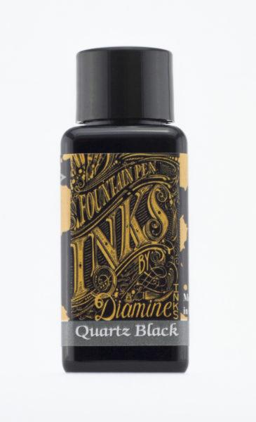 Diamine Fountain Pen Ink - Quartz Black