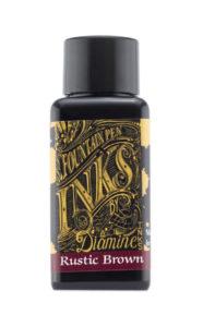 Diamine Fountain Pen Ink - Rustic Brown