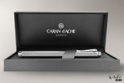Caran D'Ache Palladium-coated Ecridor Chevron Fountain pen