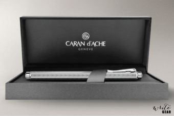 Caran D'Ache Palladium-coated Ecridor Chevron Fountain pen