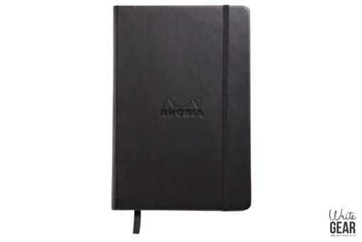 Rhodia webnote book Black Lined