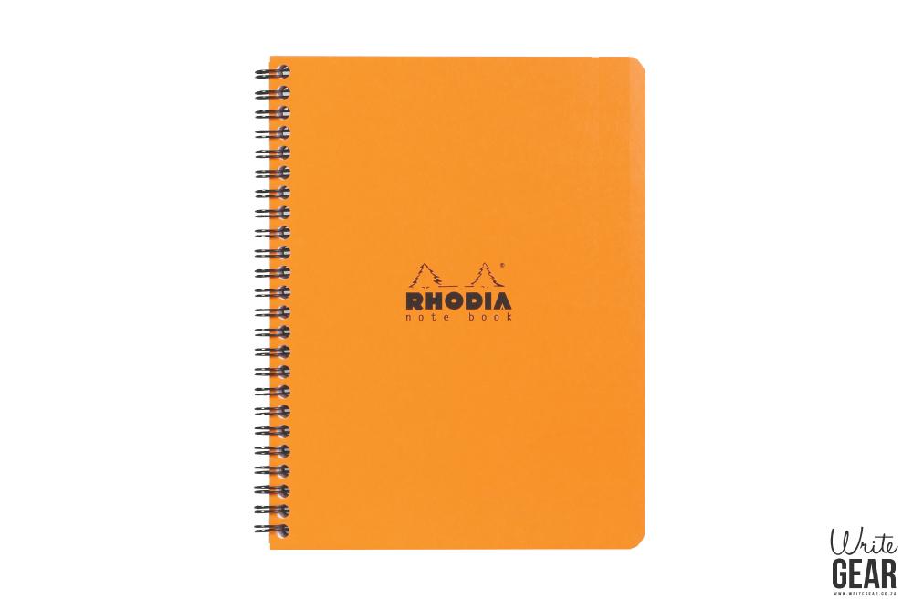 Rhodia Wirebound Orange