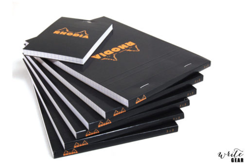 Rhodia Head stapled Nº18 - black