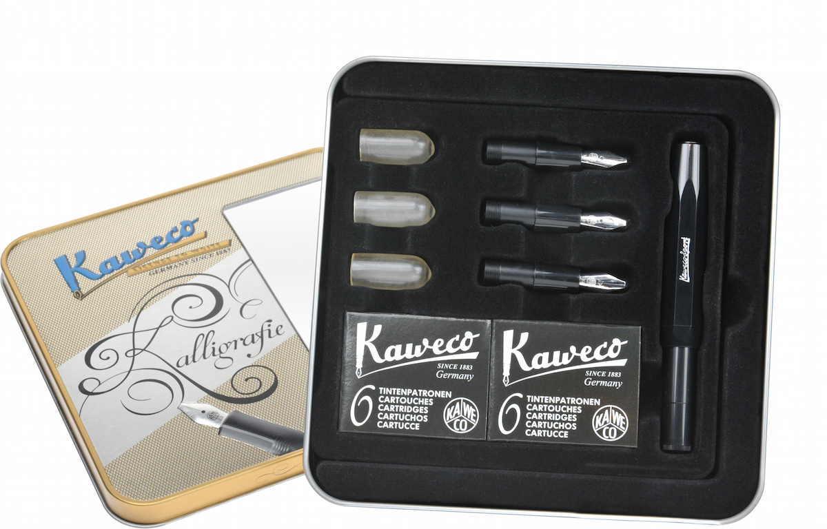 Kaweco Calligraphy Set Black Write Gear