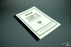 Life Schopfer Notebook on Dark Background