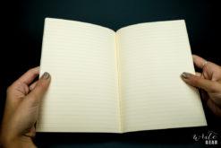 Life Vermillion Notebook on Dark - Paper Far