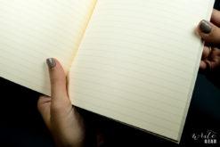 Life Vermillion Notebook on Dark - Paper Close
