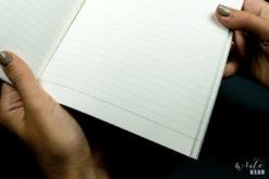 Tsubame Notebook A5 on Dark - Paper Close