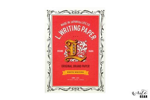 L Brand Label Letter Pad A5 White