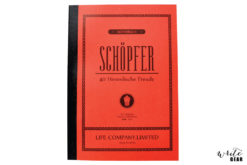 Schopfer A5 Ruled Notebook
