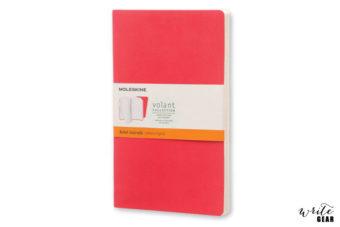 Moleskine Volant Scarlet Red Large - Ruled