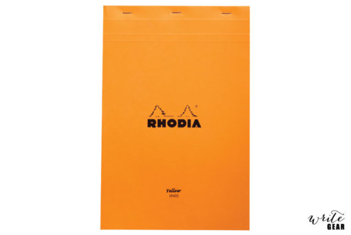 Rhodia Nº19 Yellow Lined Pad