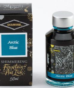 Arctic Blue Shimmer Ink