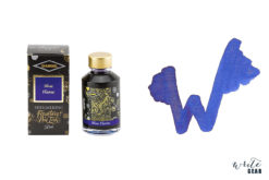 Diamine Shimmertastic Fountain Pen Ink Bottle - Blue Flame