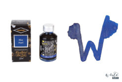 Diamine Shimmertastic Fountain Pen Ink Bottle - Blue Pearl