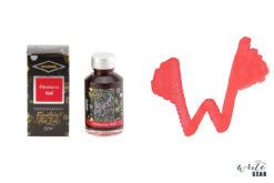Diamine Shimmertastic Fountain Pen Ink Bottle - Firestorm Red