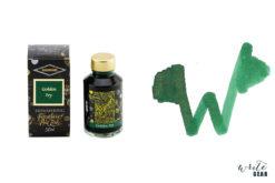 Diamine Shimmertastic Fountain Pen Ink Bottle - Golden Ivy