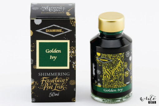 Golden Ivy Shimmer ink
