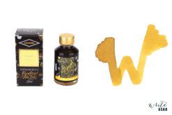 Diamine Shimmertastic Fountain Pen Ink Bottle - Golden Sands