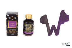 Diamine Shimmertastic Fountain Pen Ink Bottle - Purple Pazzazz