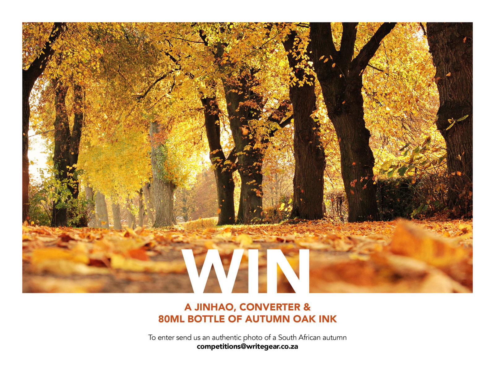 Write GEAR Autumn Competition - 2018