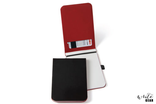 Offlines Leather Pad - Black/Red Small