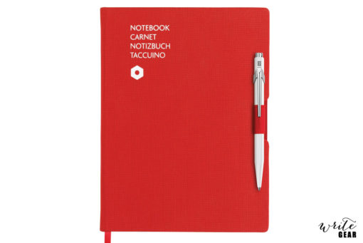Caran D'Ache Notebook + Ballpoint Pen