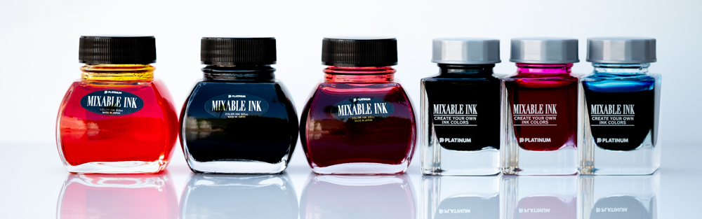 Platinum Mixable Inks Series Banner