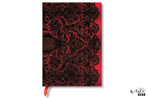 Paperblanks Rouge Boudoir Midi Notebook