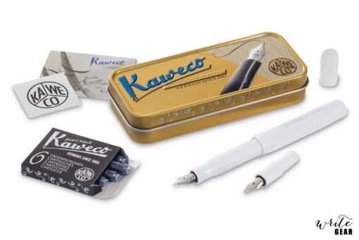 "Kaweco Calligraphy Set ""S"" White"
