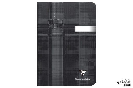 Clairefontaine Staplebound Notebook - A5 - Ruled - Black