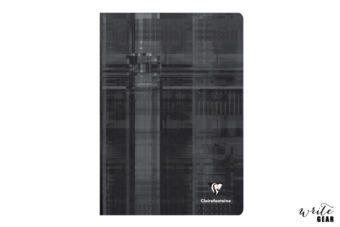 Clairefontaine Clothbound Notebook Black - A4 - Ruled