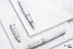 Leonardo Fountain Pens - White Salt