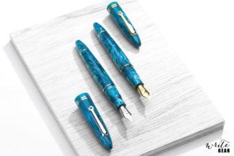 Leonardo Fountain Pens - Emerald Blue